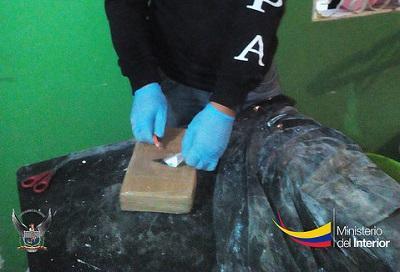 La Policía incauta de 341 kilos de cocaína y detiene a 4 personas