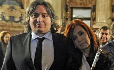 Hijo de la presidenta de Argentina se postula como candidato a diputado