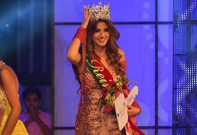 Dayar Olmedo se coronó como la mujer más bella de Santo Domingo