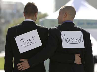 74 % Se opone al  matrimonio gay