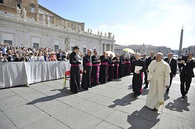 Aceleran los trabajos por la visita papal