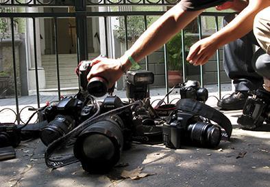 """La SIP expresa 'preocupación' por el  """"acoso"""" a periodistas"""