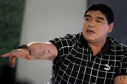Maradona se postulará como candidato a la presidencia de la FIFA