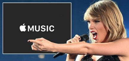 Apple da marcha atrás a servicio musical de período gratuito tras críticas de Taylor Swift
