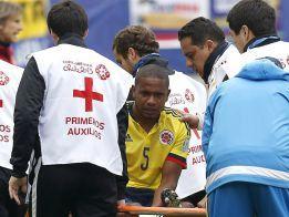 Jugador colombiano sufre lesión y se pierde el resto de Copa América