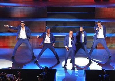 Los Backstreet Boys brindaron conciertos en México