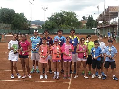Armarán  ranking provincial de tenistas
