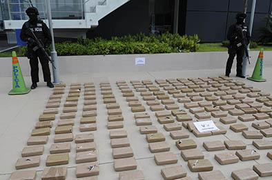Decomisan 747 kilos de cocaína