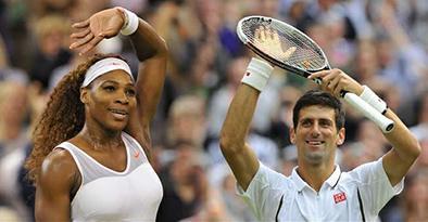 Djokovic y Williams siguen en la cima de la clasificación