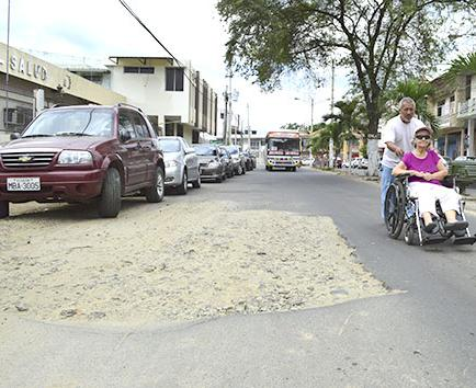 El centro de la ciudad sin agua desde hoy por reparación de tubería