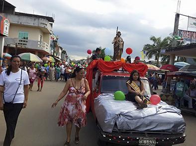 Fiesta en honor de San Juan Bautista
