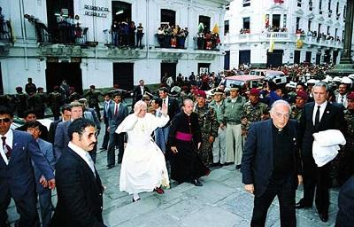 El recuerdo de Juan Pablo II en los manabitas