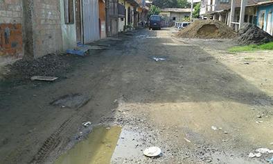 Piden al municipio que se acuerde de una calle