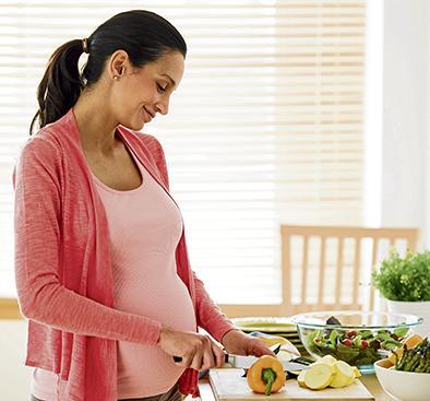 Un embarazo feliz con salud de hierro