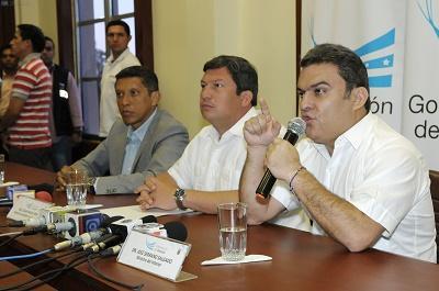 José Serrano advierte de posibles actos vandálicos en protestas contra Gobierno
