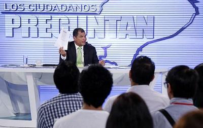 Correa no descarta una consulta popular sobre ley de herencias