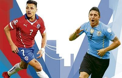 ¡Duelo de gigantes! Chile y Uruguay se miden por un pase a semifinales