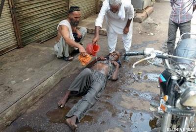 Aumentan a 859 los muertos en Pakistán por ola de calor