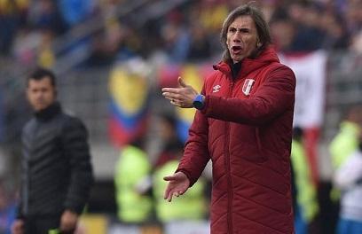 Gareca dice que a los jugadores de Perú 'les desbordan las ganas'