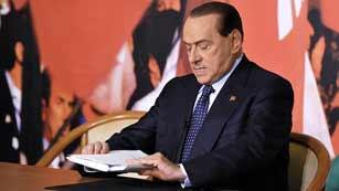 Piden 5 años de prisión para Berlusconi por caso de soborno a un senador