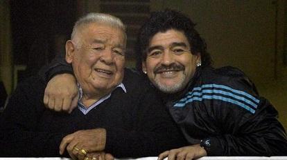 Muere el padre de Diego Maradona a los 87 años