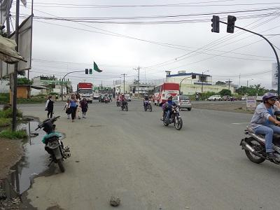 El tránsito crece en el baipás Quito-Quevedo, según moradores