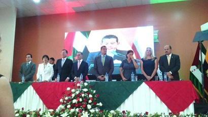 Se desarrolla sesión solmene por los 191 años de provincialización de Manabí