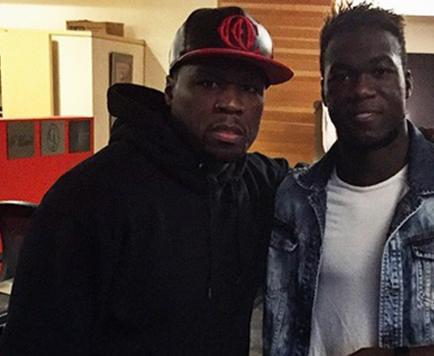Felipao y el rapero 50 Cent se reúnen en Nueva York