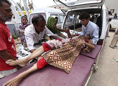 Ola de calor deja 859 muertos