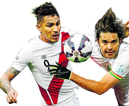 Bolivia y Perú, por un lugar en semifinales