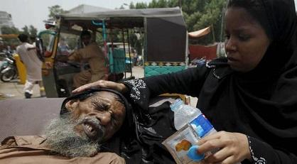 La ola de calor causa 1.170 muertos en Pakistán