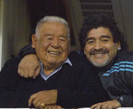 Padre de Diego Armando Maradona muere en Buenos Aires