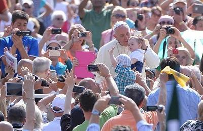 El papa Francisco envía saludos a Ecuador: 'Hasta prontito'