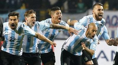 Argentina vence a Colombia en la tanda de penales y avanza a 'semis'