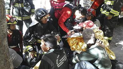 22 personas intoxicadas por inhalar gases