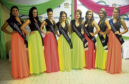 8 candidatas y una corona