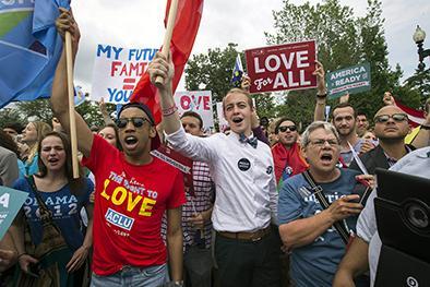 Los gais pueden casarse en EE.UU.