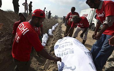 Más de mil personas  han muerto por el calor
