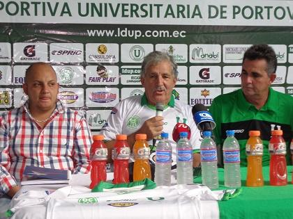 Liga de Portoviejo presenta al cuerpo técnico