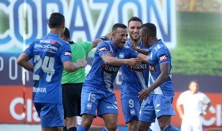 Emelec goleó por 4-0 a Liga de Loja en el Capwell