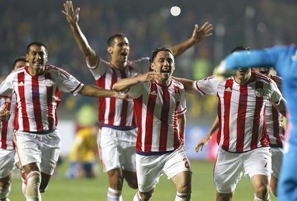 Paraguay pasa a semifinales y elimina a Brasil de la Copa América