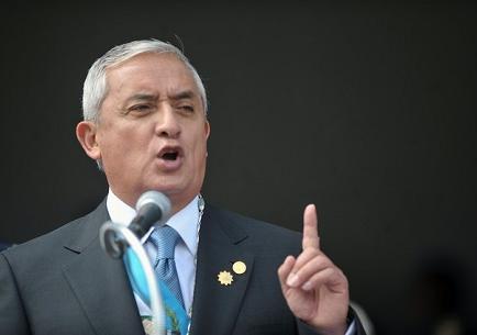 Pérez Molina presenta solicitud de amparo ante la Corte de Constitucionalidad