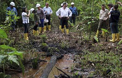 Chevron pide anular proceso