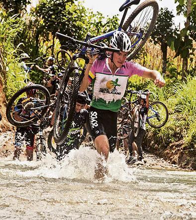 Competencia ciclística de montaña se corre hoy en el carmen