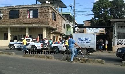 Accidente en moto deja un muerto en Portoviejo
