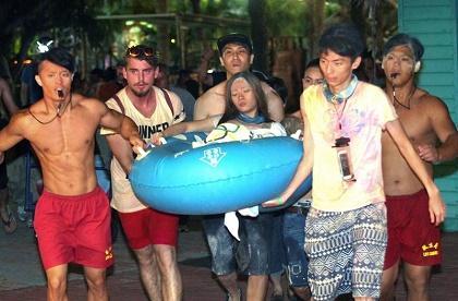Asciende a 524 número de heridos por incendio en parque acuático en Taiwán