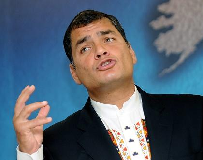 Correa dice que Ecuador y Bielorrusia producirán juntos aviones no pilotados