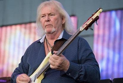 Fallece Chris Squire, bajista del grupo británico Yes