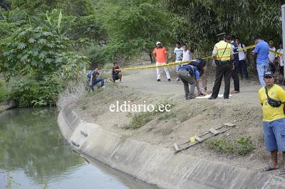 Mujer de 37 años muere ahogada en un canal de riego