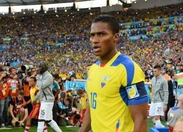 Antonio Valencia responde a declaraciones de Luis Chiriboga